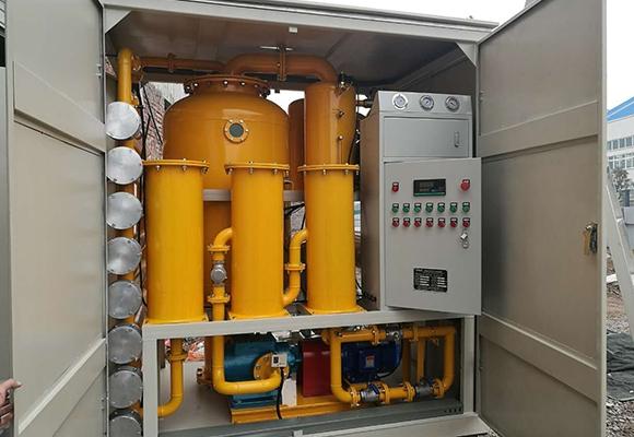 QR-FB封闭式滤油机